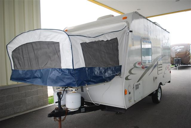 Used 2008 Travel Lite RV Crossover 170T Hybrid Travel Trailer For Sale