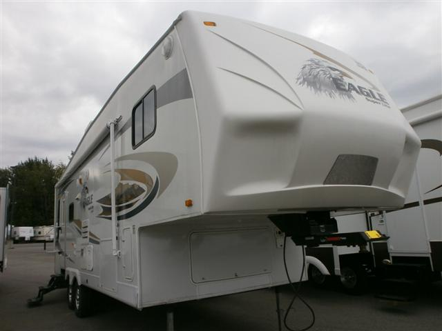 Used 2010 Jayco Eagle M-28.5RLS Fifth Wheel For Sale