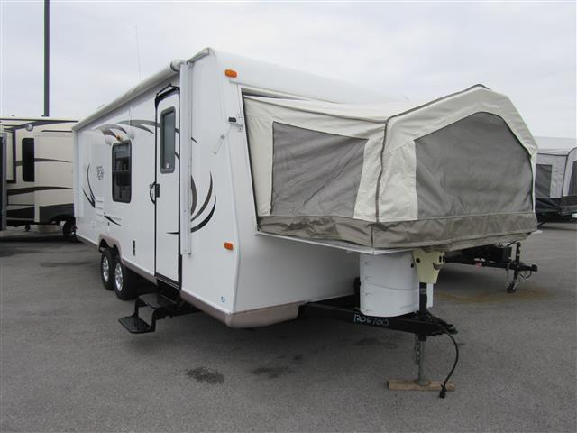 Used 2011 Rockwood Rv Roo 23SS Hybrid Travel Trailer For Sale