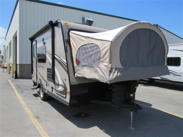 Used 2013 Dutchmen Kodiak M-161E Hybrid Travel Trailer For Sale