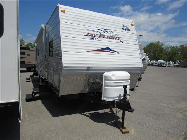 Used 2008 Jayco JAYFLIGHT G2 M-29RLS Travel Trailer For Sale