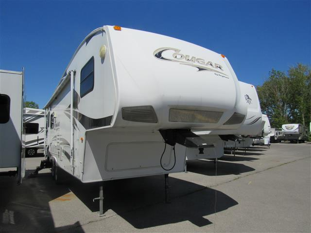 Used 2008 Keystone Cougar 276RLS Fifth Wheel For Sale