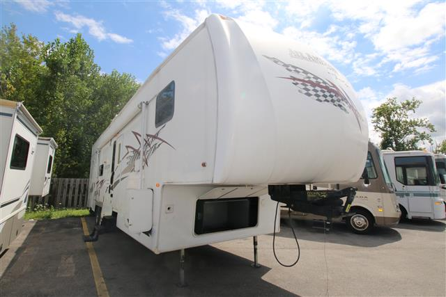 Used 2006 Forest River All American Sport M-365CKS Fifth Wheel Toyhauler For Sale