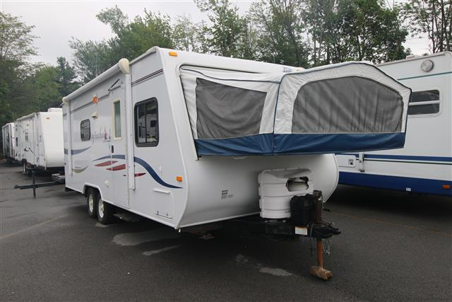 Used 2008 Jayco Jay Feather M-23 B Travel Trailer For Sale