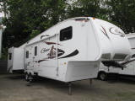 Used 2009 Keystone Cougar 318 SAB Fifth Wheel For Sale