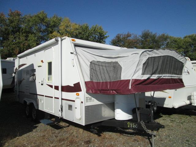 Used 2007 Starcraft Antigua 215 SSO Hybrid Travel Trailer For Sale