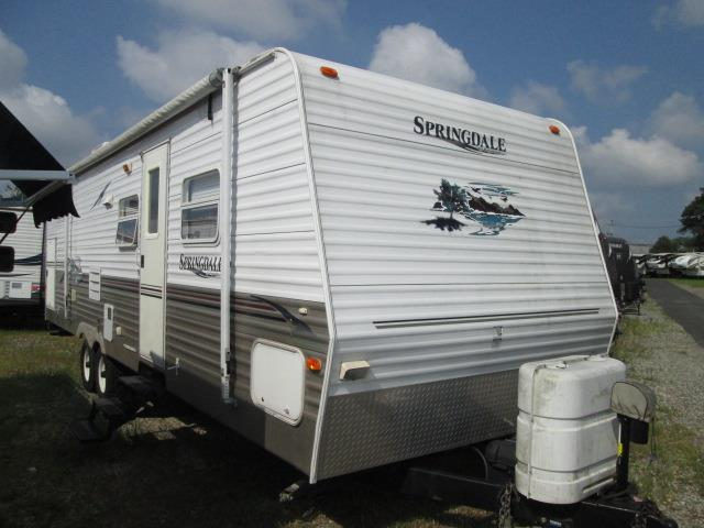Used 2006 Keystone Springdale 298 Travel Trailer For Sale