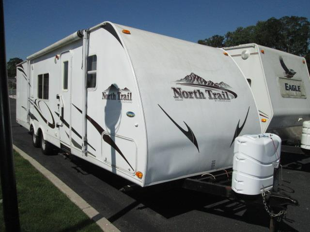 Used 2008 Heartland North Trail ULTRA LITE 31BHD Travel Trailer For Sale