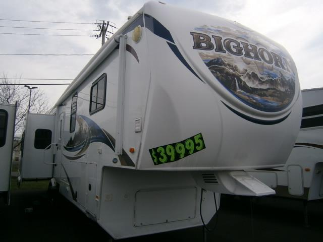 Used 2011 Heartland Big Horn 3670RL Fifth Wheel For Sale