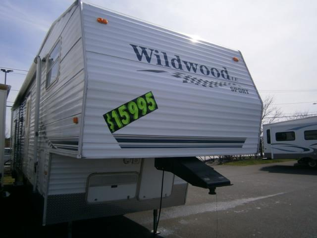 Buy a Used Forest River Wildwood Le in Syracuse, NY.