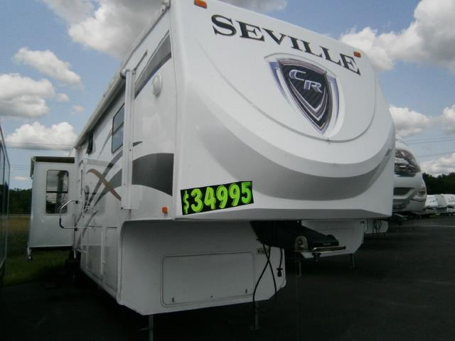 Used 2008 Crossroads Seville 36SK Fifth Wheel For Sale