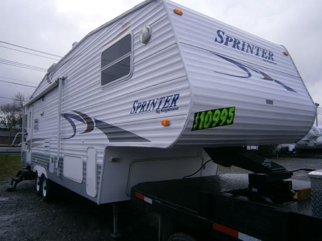 Used 2004 Keystone Sprinter 276RL Fifth Wheel For Sale