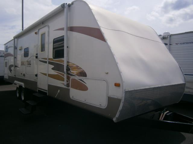 Used 2007 Crossroads Sunset Trail 31QBS Travel Trailer For Sale