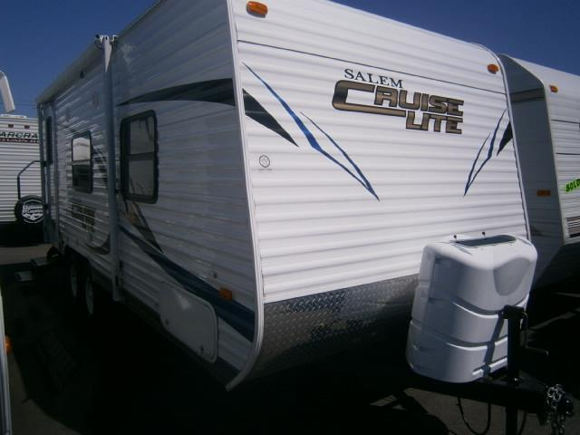 Used 2012 Forest River SALEM CRUISE LITE 22RBXL Travel Trailer For Sale