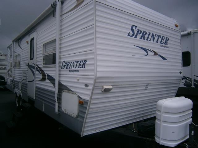 Used 2004 Keystone Sprinter 297BHS Travel Trailer For Sale