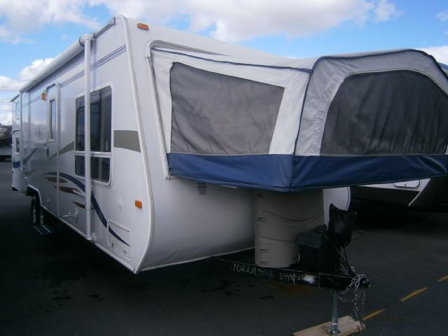 Used 2007 Jayco Jayfeather EXP 26L Hybrid Travel Trailer For Sale