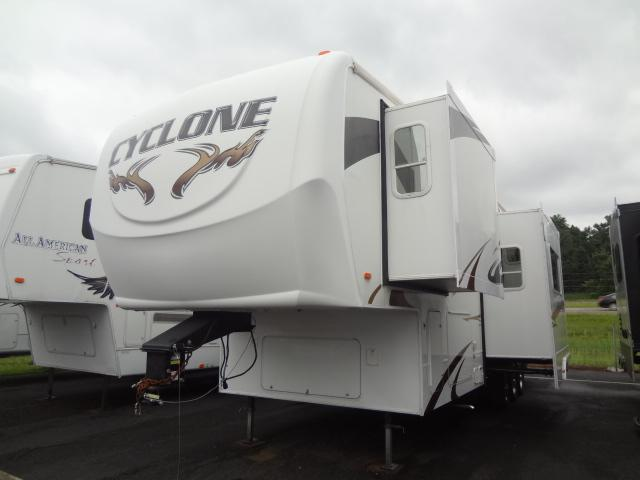 Used 2008 Heartland Cyclone 3612 Fifth Wheel Toyhauler For Sale