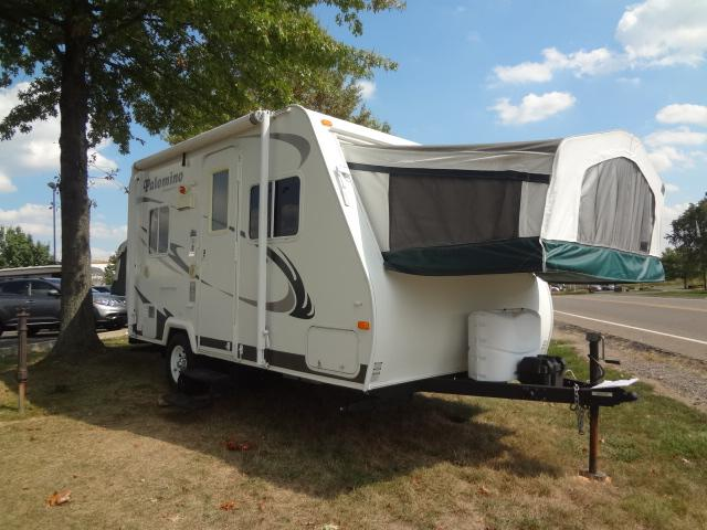 Used 2009 Palomino Palomino S-17 Hybrid Travel Trailer For Sale