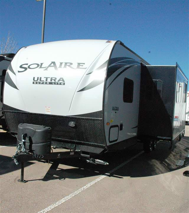 New 2015 Forest River SOLAIRE ULTRA-LITE 267BHSK Travel Trailer For Sale