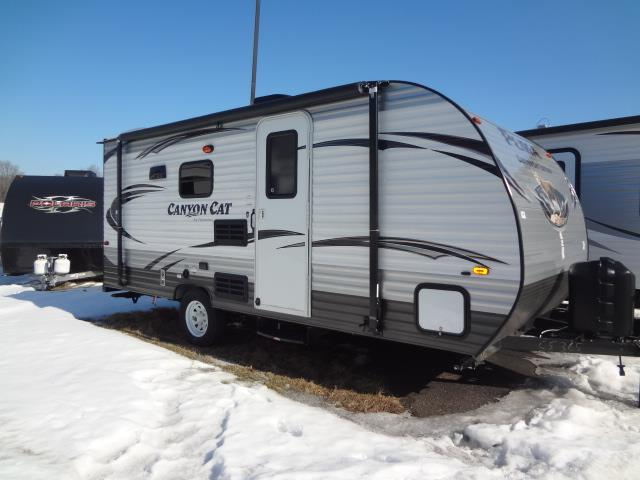 New 2015 Forest River CANYON CAT 17QBC Travel Trailer For Sale