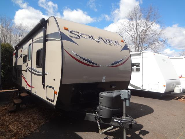 Used 2013 Palomino Palomino 25BHSS SOLAIRE Travel Trailer For Sale