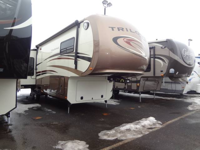 Used 2014 Forest River TRILOGY 36RE Fifth Wheel For Sale