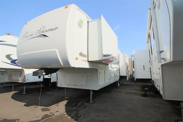 Used 2006 Gulfstream Gulfstream PRARIE SCHOONER 35 Fifth Wheel For Sale