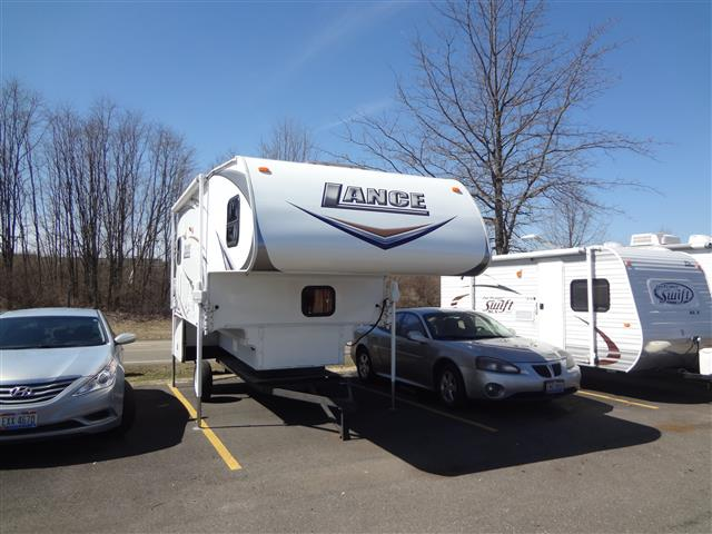 Used 2010 Lance Lance 1181 Truck Camper For Sale