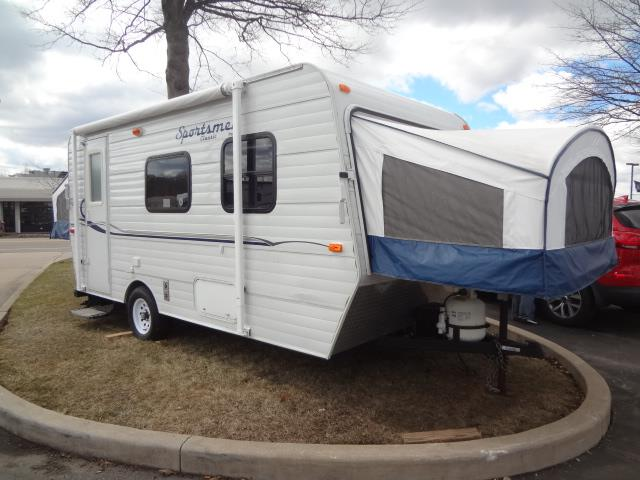 Used 2011 SPORTSMEN Kz 16RBT Hybrid Travel Trailer For Sale