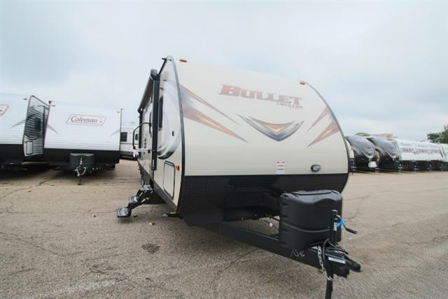 New 2016 Keystone Bullet 287QBS Travel Trailer For Sale