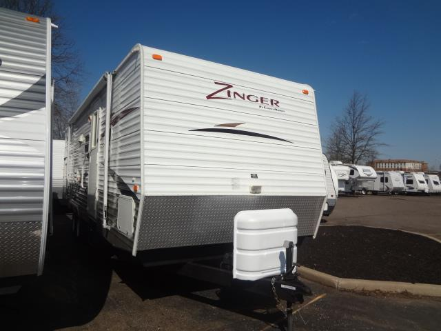 Used 2008 CROSSROADS RV Zinger ZT26BH08 Travel Trailer For Sale
