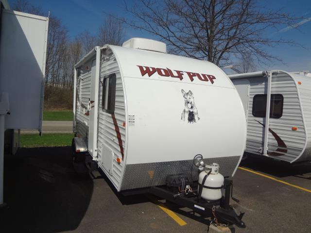 Used 2011 Forest River WOLF PUP 16B Travel Trailer For Sale
