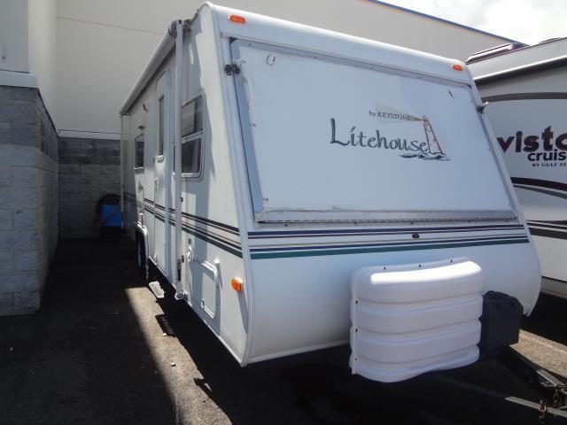 Used 2001 Keystone LITEHOUSE 23SSE Hybrid Travel Trailer For Sale
