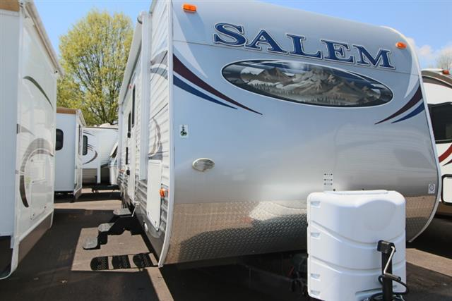 Used 2012 Salem Salem 30QBSS Travel Trailer For Sale