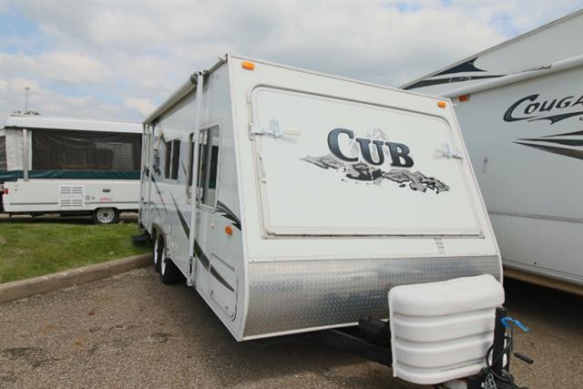 Used 2007 Dutchmen Aerolite 235 Hybrid Travel Trailer For Sale