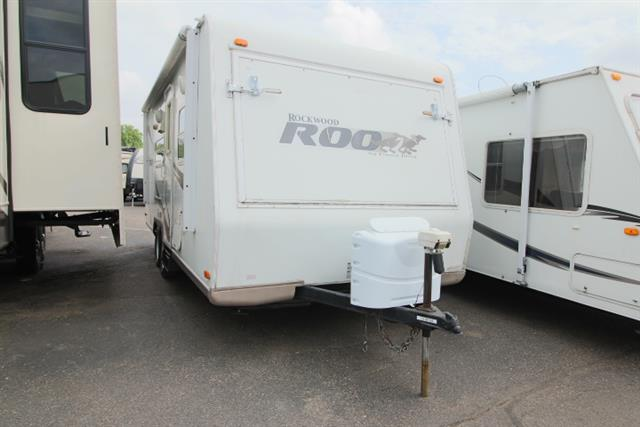 Used 2008 Rockwood Rv Rockwood ROO 23S6 Hybrid Travel Trailer For Sale