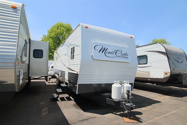 Used 2012 Recreation by Design Forest River 34PM MONTE CARLO Travel Trailer For Sale