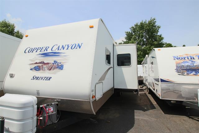 Used 2006 Sprinter Sprinter COPPER CANYON 3141BHDS Travel Trailer For Sale