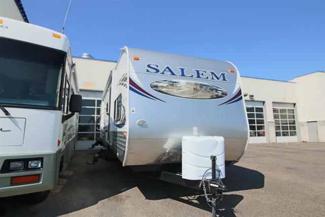 Used 2012 Salem Salem SMT36BHBS Travel Trailer For Sale
