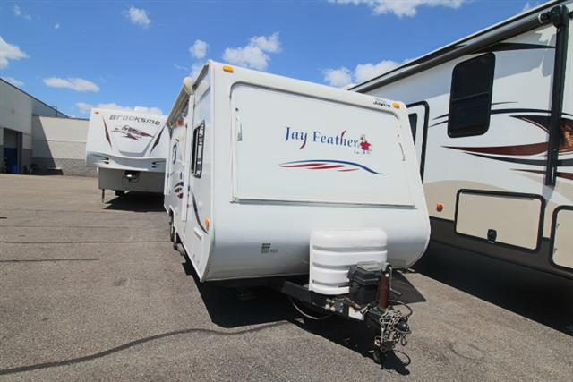 Used 2008 Jayco Jayfeather 23B Hybrid Travel Trailer For Sale