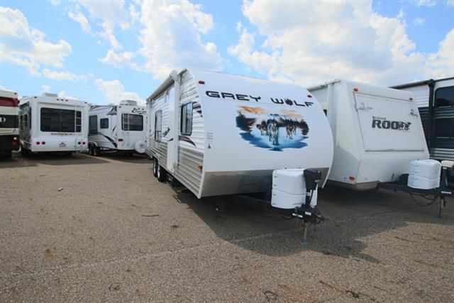 Used 2013 Cherokee Grey Wolf 25RR Travel Trailer For Sale