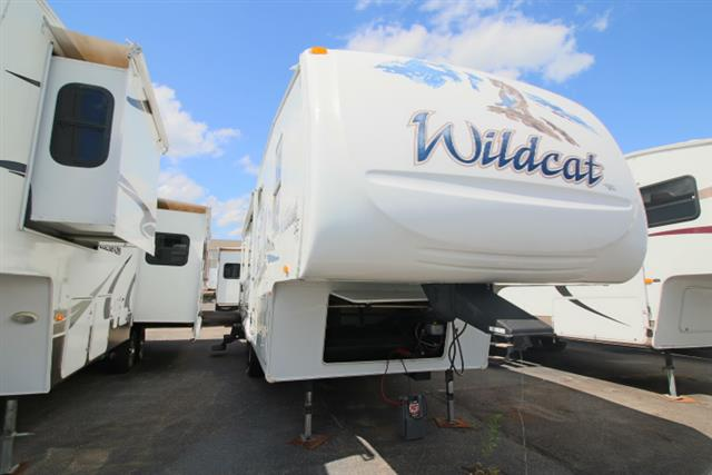 Used 2007 Forest River Wildcat 29RL Fifth Wheel For Sale