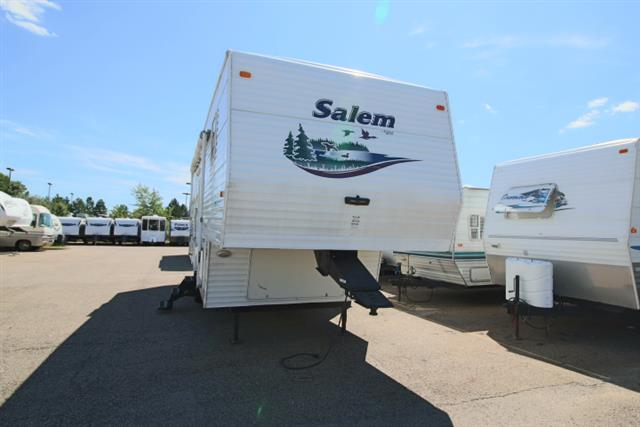 Used 2003 Forest River Forest River 27RKSS SALEM Fifth Wheel For Sale