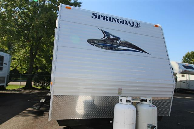 Used 2011 Springdale Springdale 372BHGL-11 Travel Trailer For Sale