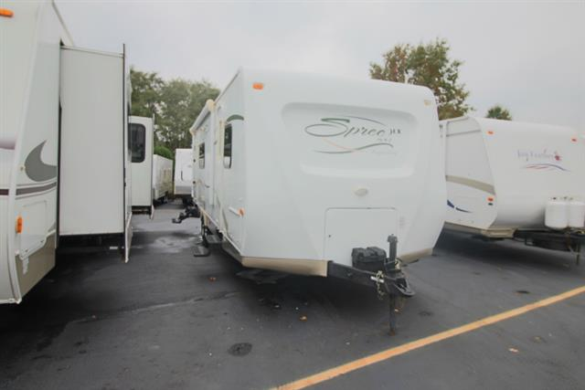 Used 2008 K-Z Kz SPREE 261 RKS Travel Trailer For Sale
