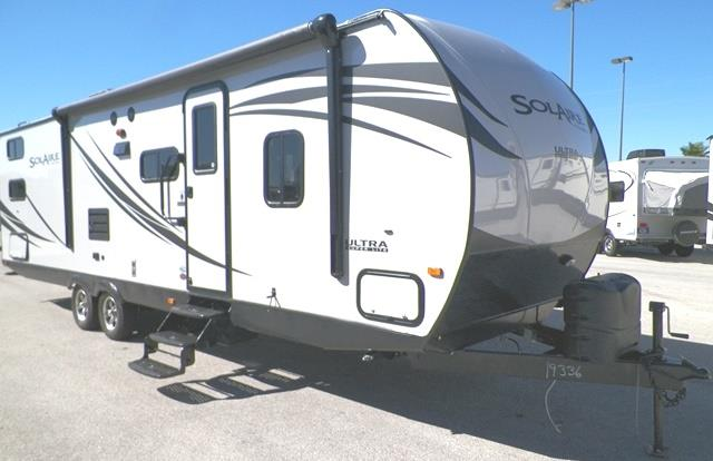 New 2015 Forest River SOLAIRE 7 28QBSS Travel Trailer For Sale