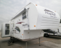 Used 2008 Forest River Flagstaff 26 Fifth Wheel For Sale