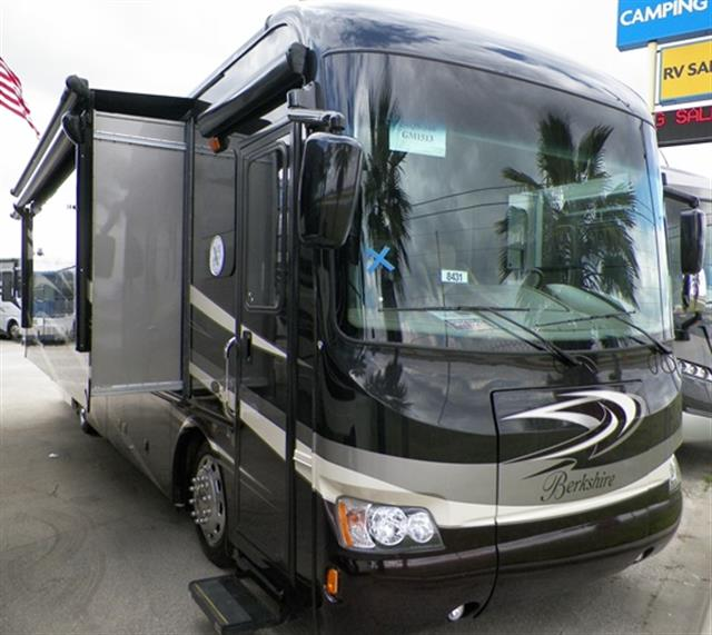 Used 2015 Forest River Berkshire 34QS Class A - Diesel For Sale