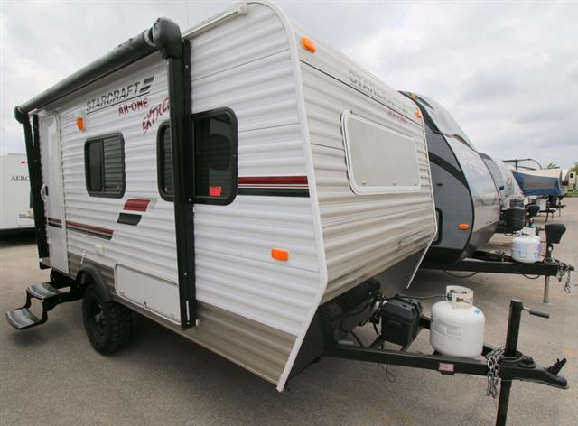 Used 2013 Starcraft AR-1 15 RB Hybrid Travel Trailer For Sale