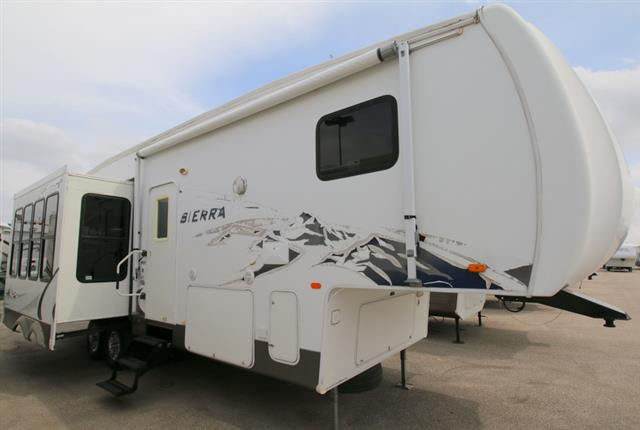 Used 2008 Forest River Sierra 295RLT Fifth Wheel For Sale